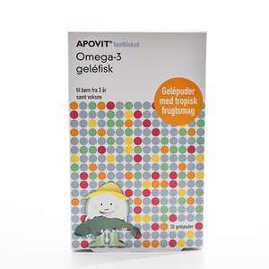 Apovit Omega-3 Gelefisk
