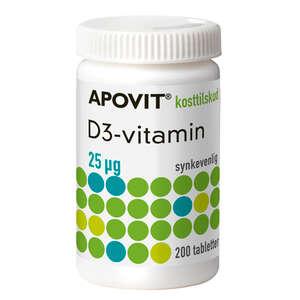 Apovit D3-Vitamin 25 mikg