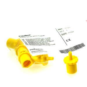 PEP modstande 2,5 mm GUL