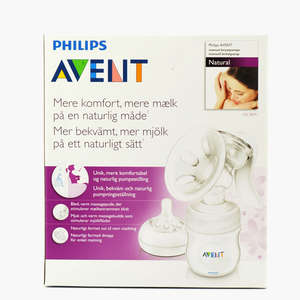 Avent  brystpumpe man.Natural