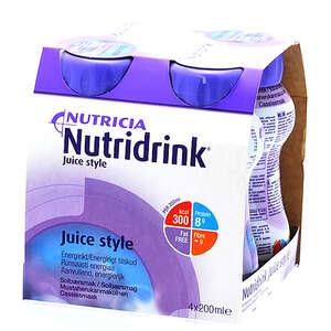Nutridrink Juice Style Solbær