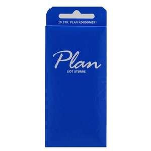 Plan kondomer blå