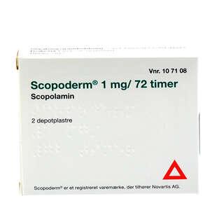Scopoderm 1 mg/72 timer