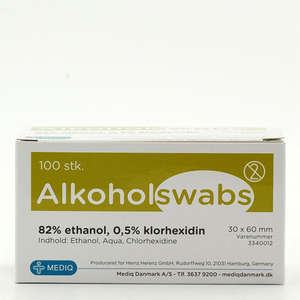 Alkoholswabs 3x6 cm