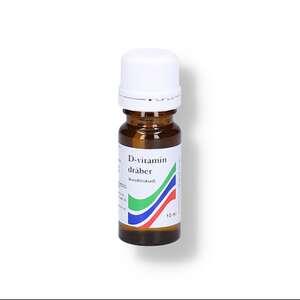 D-vitamin dråber m/jordnødSA