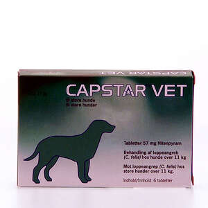Capstar vet 57 mg