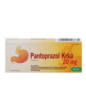 Pantoprazol 20 mg KRKA