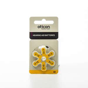 Oticon batterier høreapp 10+