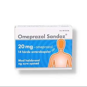 "Omeprazol ""Sandoz"" 20 mg"