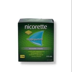 Nicorette Classic 4 mg