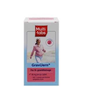 Multi-tabs GraviJern tabletter