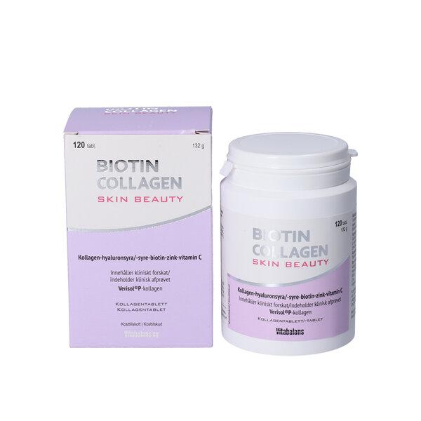 Biotin Collagen Skin Beauty tabletter