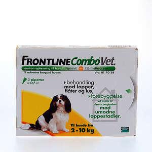 Frontline combo hund 2-10 kg