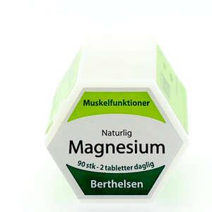 Berthelsens Naturlig Magnesium tabletter