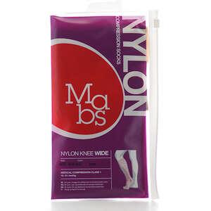 Mabs Nylon Knee Wide beige S