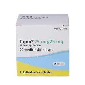 Tapin 25+25 mg