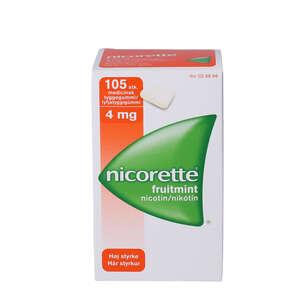Nicorette fruitmint 4 mg