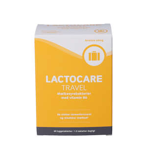 Lactocare TRAVEL Tyggetabletter