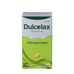 Dulcolax entero 5 mg
