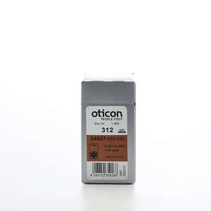Oticon Zinc Air batterier