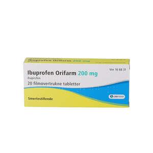 Ibuprofen Orifarm 200 mg