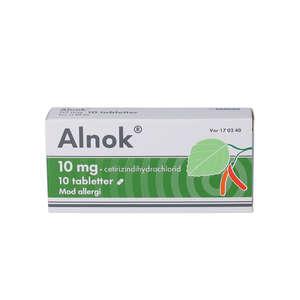 Alnok 10 mg 10 stk