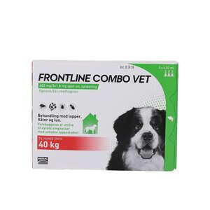 Frontline Combo Vet. Hunde over 40 kg 3 stk