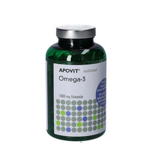 Apovit Omega-3 Kapsler (180 stk)