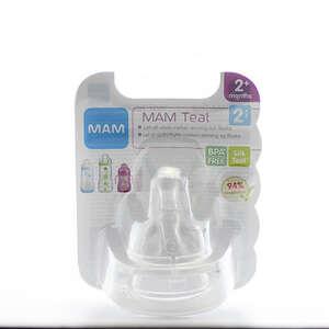 MAM Silk Teat Flaskesut (str. 2 til mælk)