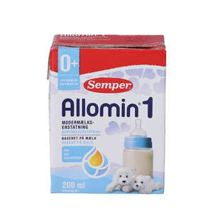 Drikkeklar Allomin 1