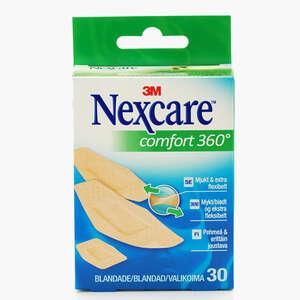 Nexcare Comfort Strips (3 str, 30 stk)