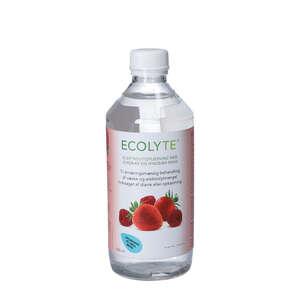 Ecolyte Opløsning (Jordbær/hindbær)