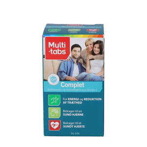 Multi-tabs Complet tabletter
