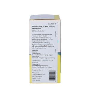 "Kaliumklorid ""2care4"" 750 mg"