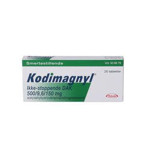 "Kodimagnyl Ikke-stoppende ""DAK 20 stk"