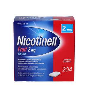 Nicotinell Fruit 2 mg 204 stk