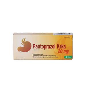Pantoprazol 20 mg KRKA 14 stk
