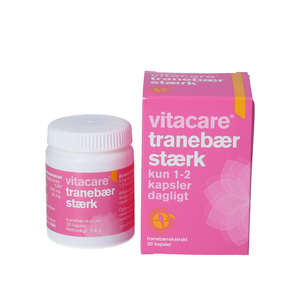 VitaCare Tranebær Stærk kapsler