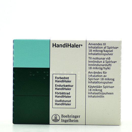 Spiriva handihaler 18 mg chlorpheniramine