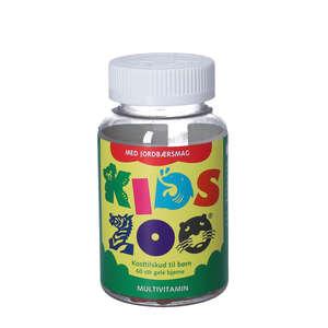 Kids Zoo Multivitaminer (jordbær)