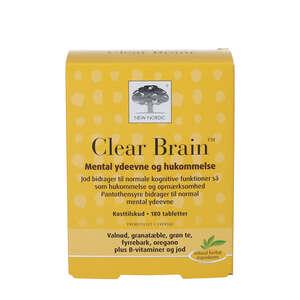 Clear Brain tabletter (180 stk)