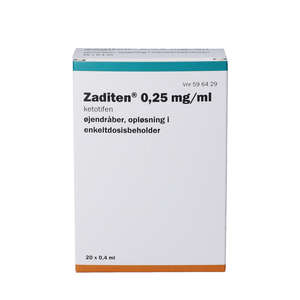 Zaditen 0,25 mg/ml