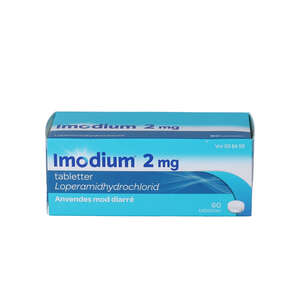 Imodium 2 mg 60 stk