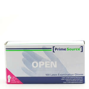 PrimeSource Latex Handsker u/pudder (S)