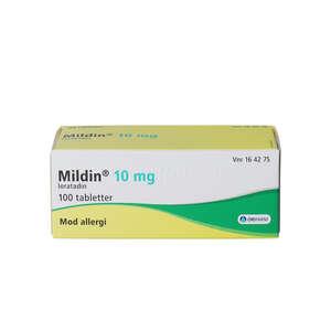 Mildin 10 mg 100 stk