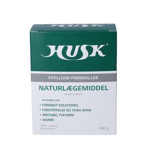 HUSK Psyllium frøskaller (200 g)