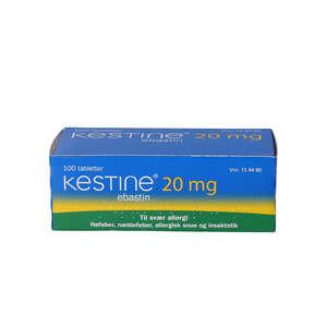 Kestine 20 mg 100 stk