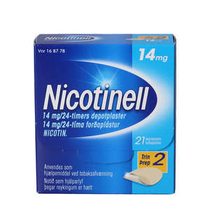 Nicotinell 14 mg/24 timer 21 stk