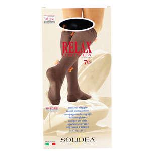 Solidea Relax Unisex 70 Knæstrømpe (XL/Sort)