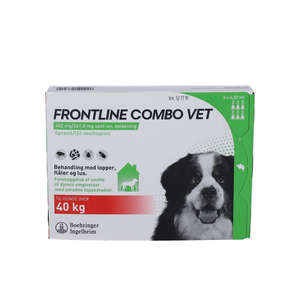 Frontline Combo Vet. (hund >40 kg) 6 stk